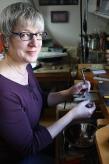 Julia Lowther jewelry instructor at North Seattle College